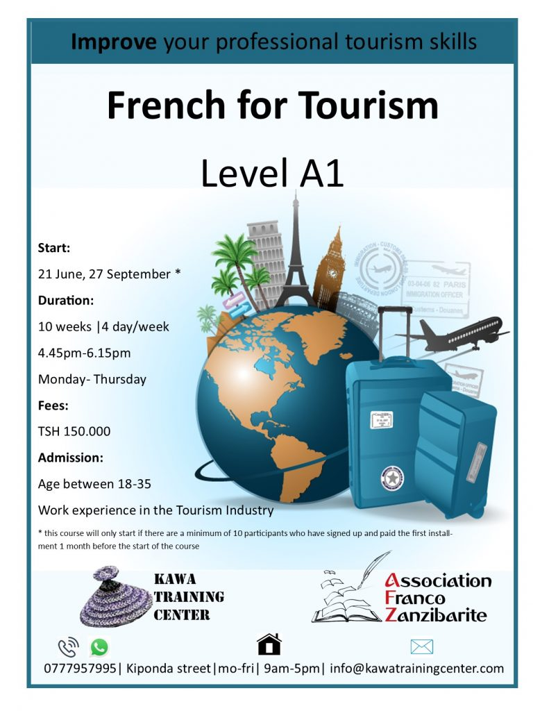 French for Tourism