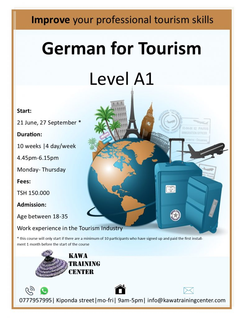 German for Tourism